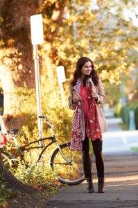 trench coat fashion blog