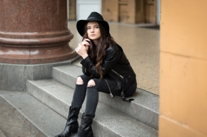 leather jacket, vancouver blogger